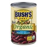 Bush's Organic Kidney Beans 16 oz (Pack of 6)