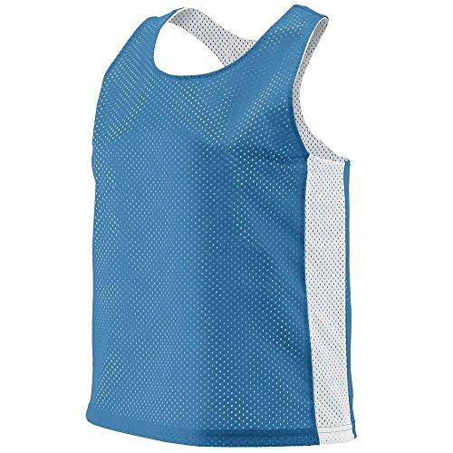 Augusta Sportswear Women's Reversible Tricot MESH Lacrosse Tank S/M Columbia - Hockey Reversible Jerseys