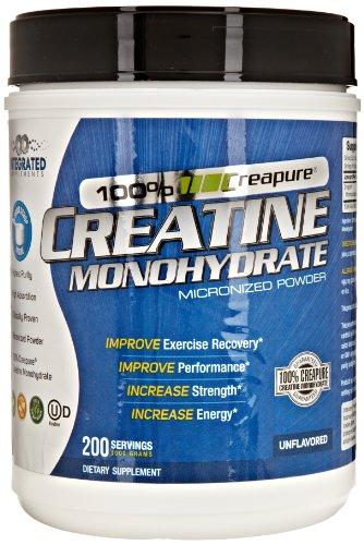 Suppléments intégré 100% Creapure Créatine 200 portions 1,000 grammes