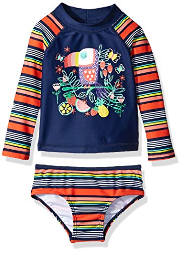 Bestselling Baby Girls Rash Guard Sets