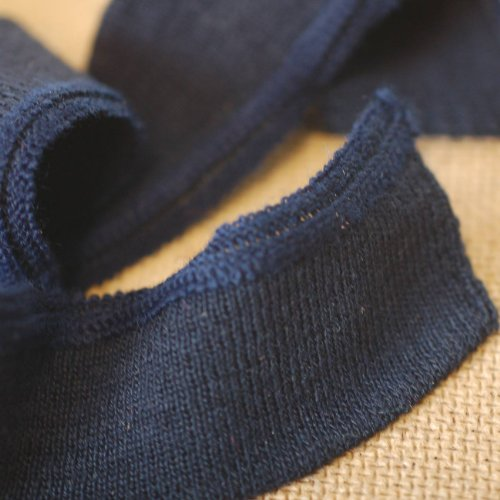 Knitted Waistband Rib Welt for Cuffs or Waist Band and Neck Band Ribs for Jackets, Bombers, or any Apparel Garments for Trimming. Stretch rib and resilient ribs. Basic colours, Black, ()