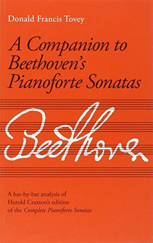 A Companion to Beethoven's Pianoforte Sonatas: Analysis (Signature Series (ABRSM)) by Sir Donald Francis Tovey (1999-02-04)