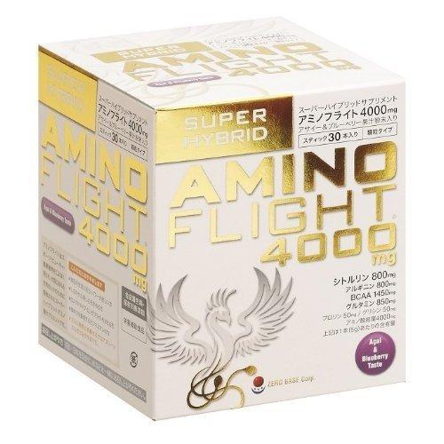 Amino flight (AMINO FLIGHT) amino acid 4000mg acai and blueberry flavor granules type 30 bottles