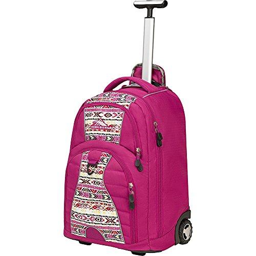 High Sierra Freewheel- - Wheeled Pink Backpacks