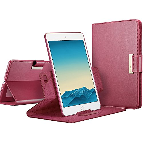 ESR iPad mini 4 Case, 360 Degree Rotating Folio Stand Case w