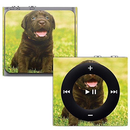 (MightySkins Skin for Apple iPod Shuffle 4G - Pup   Protective, Durable, and Unique Vinyl Decal wrap Cover   Easy to Apply, Remove, and Change Styles   Made in The USA)