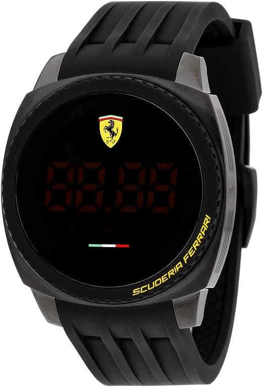 Scuderia Ferrari Aero Touch Mens Watch 0830229 Amazon De Uhren