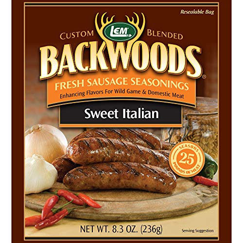 Backwoods Sweet Italian Fresh Sausage Seasoning 8.34 oz. ()