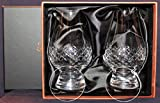 The Glencairn Diamond Cut Two Glass Boxed Set with Two Watch Glass Covers