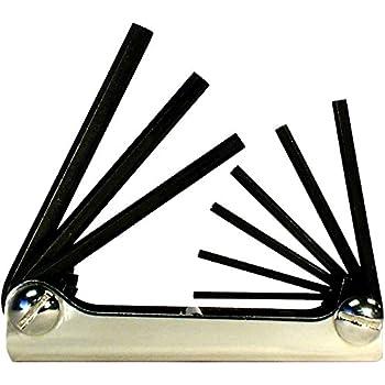 CSPHKF14P 14 Pc Folding Hex Key Wrench Set Metric /& SAE by Ctt Cal Hawk Tools