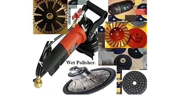 "Wet Polisher 3//4/"" Roundover Bullnose Router Pad Buff Granite Concrete Travertine"