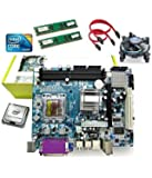 Zebronics Motherboard Kit with 2.93Ghz Intel Core2 Duo CPU, 2GB DDR2 RAM and Intel CPU Fan