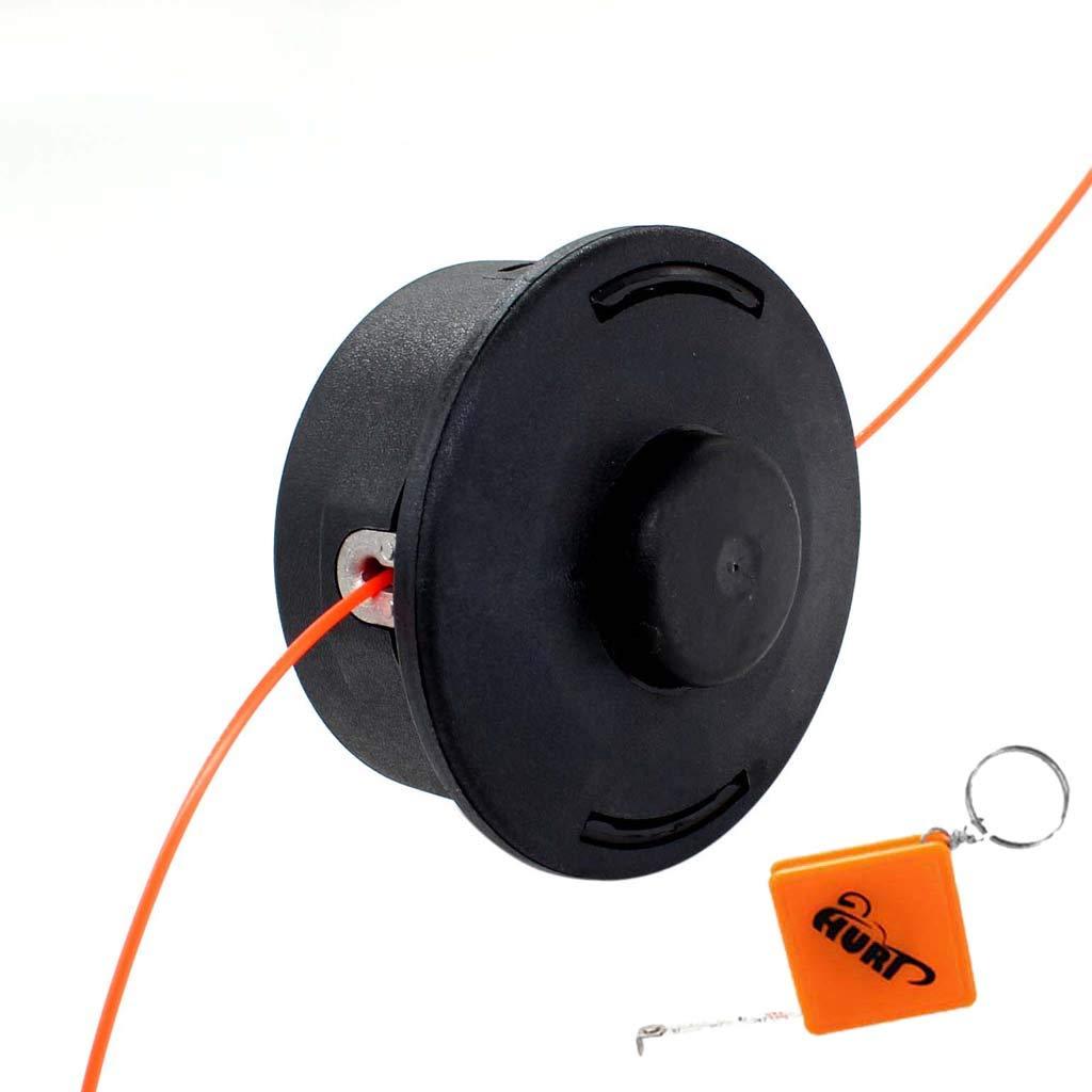 HURI Mähkopf Fadenkopf Fadenspule für Stihl FS120 FS200 FS250 Freischneider Motorsense Ersetz 4002 710 2108 HRDE153