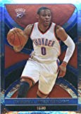 #4: 2017-18 Panini NBA Stickers #298 Russell Westbrook OKC Thunder FOIL Basketball Sticker