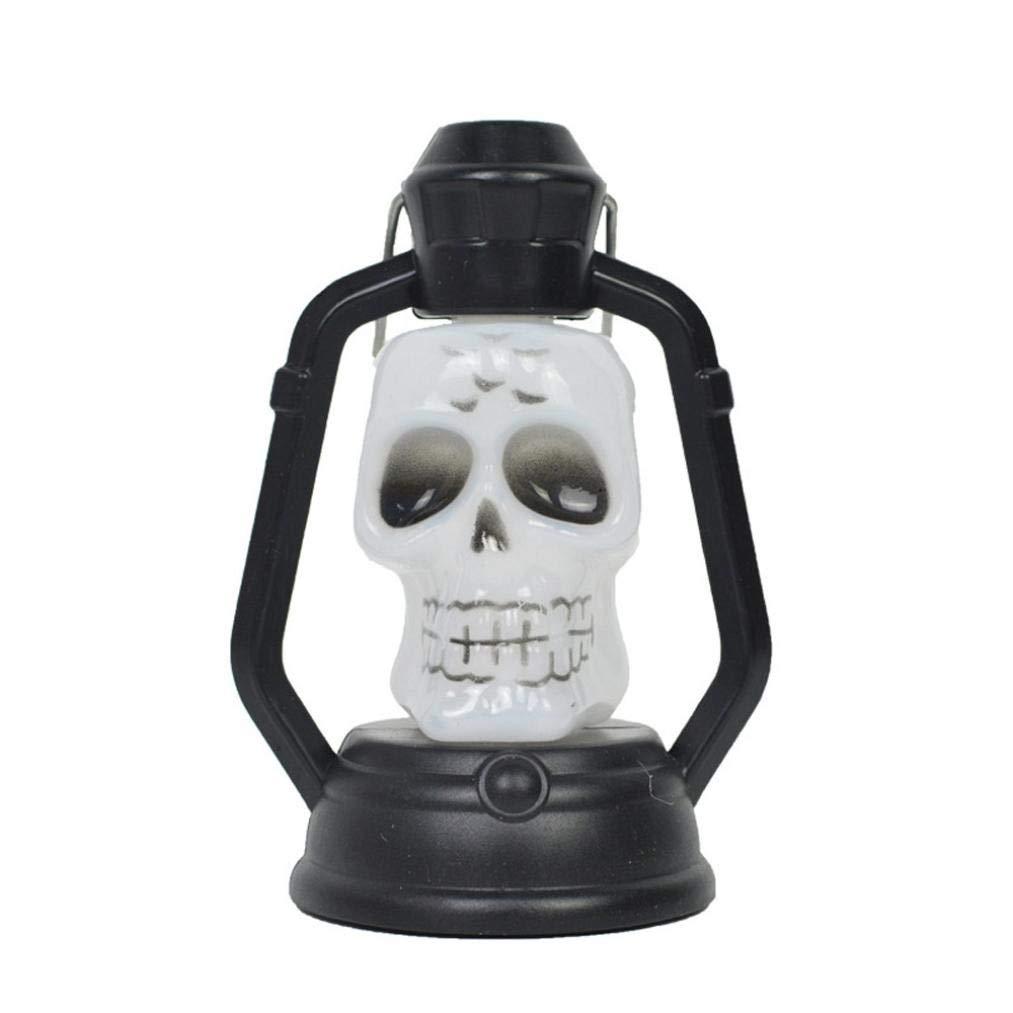 Halloween Light Skull,Lovewe Fashion Halloween Night Light Indoor/Outdoor Party Decor Toy Kids Gift Halloween Decoration (B)