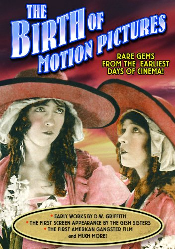 The Birth of Motion Pictures: House With Closed Shutters (1910) / An Unseen Enemy (1912) / Musketeers of Pig Alley (1912) / Love, Loot and Crash (1915) (Silent)