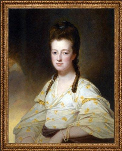 George Romney Portrait a Lady Dorothy Cavendish Wife William Cavendish Bentinck 3rd Duke Portland - 20.05