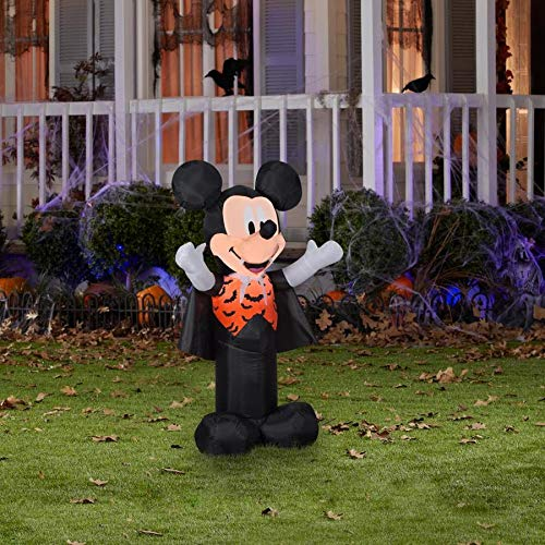 Gemmy Mickey Mouse 3.5' Halloween Airblown Inflatable