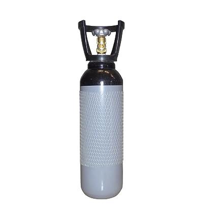 Nitrógeno Botella con plástico Cage – Gas Botella 5L relleno de nitrógeno y MC965LL de gases