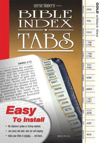 Bible Tab Finder Horizontal Apocrypha