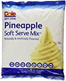 Dole Soft Serve Mix, Pineapple, 4.40 Pound