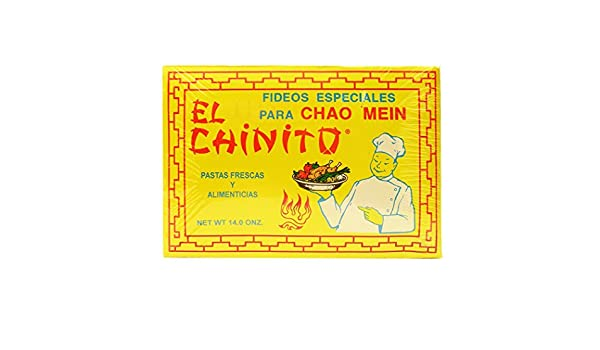 Amazon.com : El Chinito Chao Mein 14 oz (Pack of 1) : Grocery & Gourmet Food