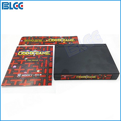 BLEE God of Game 900 in 1 Multi Arcade Game PCB JAMMA MAME Video Gmaes Board CGA / VGA Output by BLEE