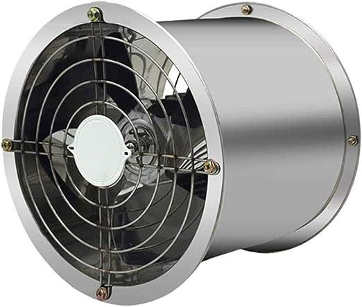 10 Pulgadas Industrial Cilindro Ventilador De Flujo Axial De Acero ...