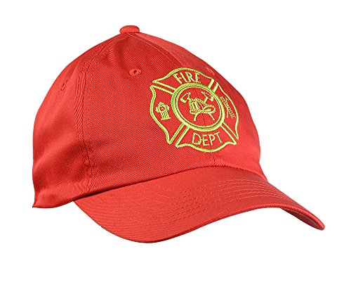 Aeromax Fire Fighter Cap Costume Headwear, One Size, Red]()