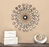Deco 79 13533 Metal Wall Modern Iron Starburst Wall Decor, 27″ Review