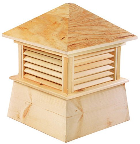 22'' Handcrafted ''Mansfield'' All Cypress Wood Cupola by CC Home Furnishings