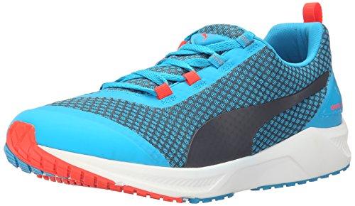 PUMA Men's Ignite XT Core Running Shoe, Atomic Blue/Black/Red, 8 D US