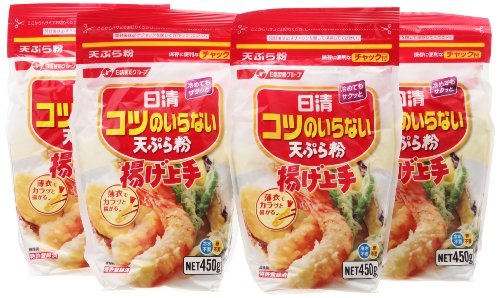 Sino Japanese Do Not Need A Knack Tempura Flour Fried Good 450Gx4 Pieces