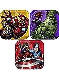 Avengers Assemble NEW Birthday Party Dessert Cake Plates (8 per pkg)