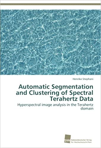 Automatic Segmentation and Clustering of Spectral Terahertz Data: Hyperspectral image analysis in the Terahertz domain