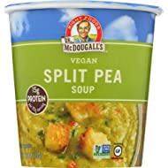 Dr.McDougall's Soup Split Pea with Barley Big Cup 2.5 OZ (Pack of 6)