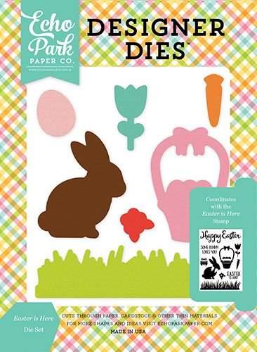Echo Park Paper Company CE121043 Easter is Here Die Set ()