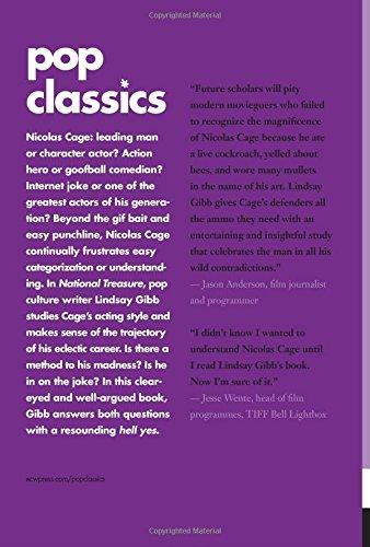 National Treasure: Nicolas Cage (Pop Classics): Lindsay Gibb ...