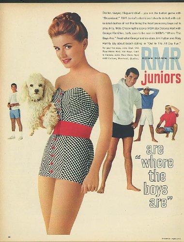 Fair 'n' Fancy Denims Blue Bell Wrangler designer jeans ad 1957 ()