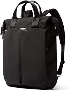 """Bellroy Tokyo Tote Backpack (Convertible Tote Backpack, Fits 15"""" Laptop) - Black"""