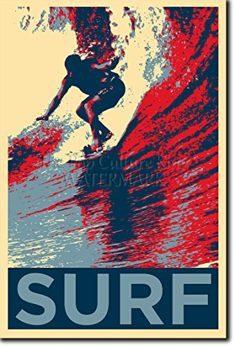 MOTIVATIONAL SURFING POSTER 6 QUOTE SURF MOTIVATION PHOTO PRINT GIFT