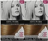 John Frieda Precision Foam Hair Colour, Light Natural Blonde 9N, 2 pk