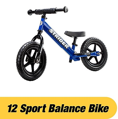 Used 4 Wheelers - Strider - 12 Sport Balance Bike, Ages 18 Months to 5 Years, Blue