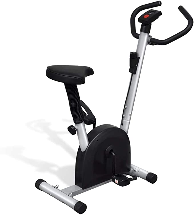 UnfadeMemory Bicicleta Elíptica con Sillín,Pantalla LCD,Funciones ...