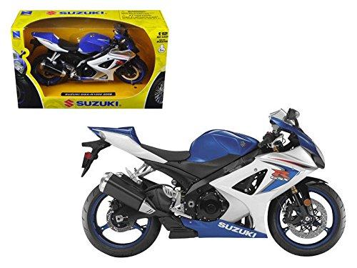 :12 2008 Suzuki GSX-R R1000 Diecast Motorcycle Vehicle ()