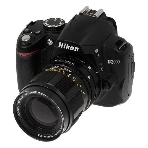 Fotodiox Pro Adaptor de Montura de Lente para Lente Konica AR a C/ámaras Nikon
