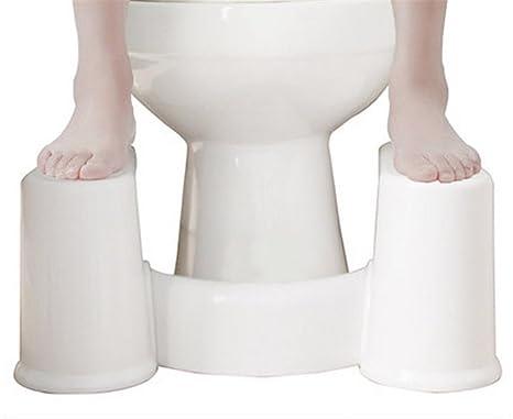 Wge sgabello comodo sgabello per toilette sfilabile sgabello da