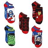 Marvel Avengers Boys 5 pack Socks (9-11, Hero Multi)