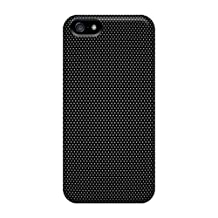 CalvinDoucet Scratch-free Phone Cases For Iphone 5/5s- Retail Packaging - Black Dot Texture