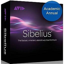 Sibelius 8 Academic for Students/ Teachers Annual Subscription